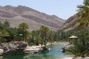 K800_Sommer in Oman_Kühles Bad im Wadi Bani Khalid_Quelle_Dr. Bernd Kregel