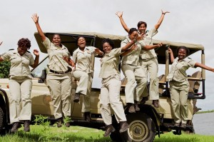 """Jumping high"": Die Ladyguides der Chobe Safari Lodge in Botswana"