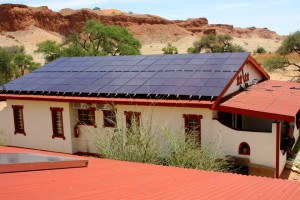 Gondwana Namib Desert Lodge_Solaranlage