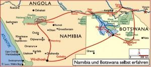 Iwanowski's Reisen: Namibia und Botswana - Selbstfahrertour