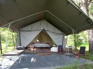 Machaba Camp, Botswana, buchbar bei Iwanowski's Reisen