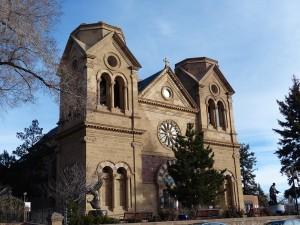 Saint Francis Cathedral in Sana Fe New Mexico. iwanowski.blog