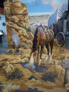 3D Mural Cowboy im Western Spirit – Scottsdale's Museum. iwanowski.blog