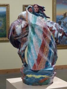 Harry Jackson Sacagawea im Scottsdale's Museum. iwanowski.blog