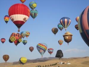 Great Reno Balloon Race in Nevada. iwanowski.blog