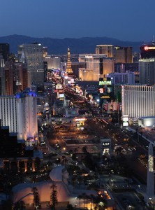 Las Vegas Strip. iwanowski.blog