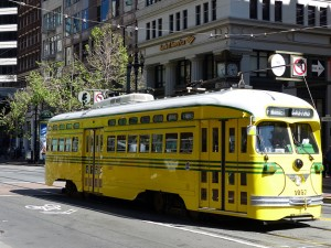 Historischer Bus San Francisco. iwanowski.blog