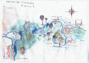 Plan Mopiri Camp Okavango