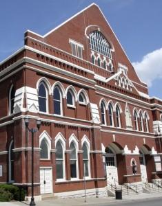 Ryman Auditorium Nashville. iwanowski.blog