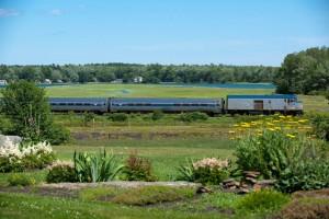 Mit dem Downeaster von Amtrak durch Neuengland (c) Downeaster