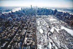 Luftbilder von New York